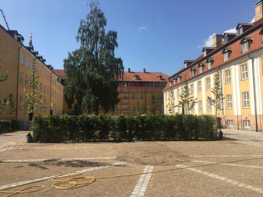 Ejendomsservice på Nordsjælland ved gammel bygning